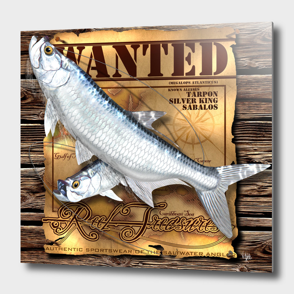 REEL TREASURES WANTED- Tarpon