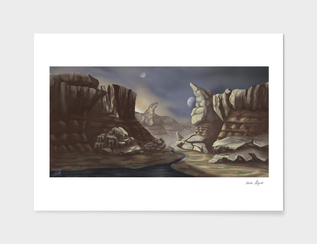 Desolate Canyon