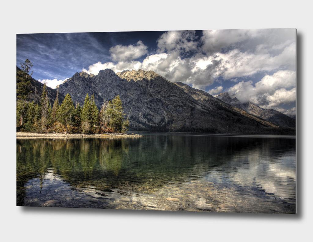 Jenny Lake at GrandTetons