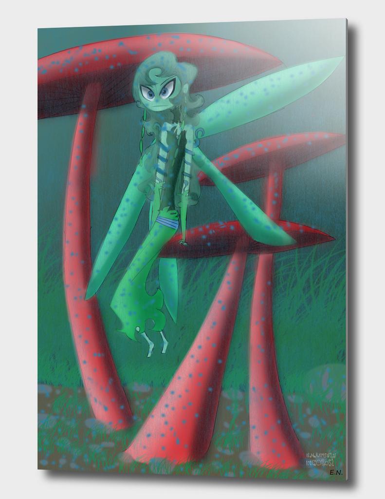 fairy-with-mushroom---fata-con-fungo