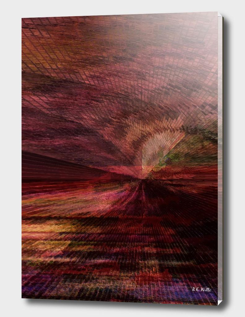 Red Desert Twilight