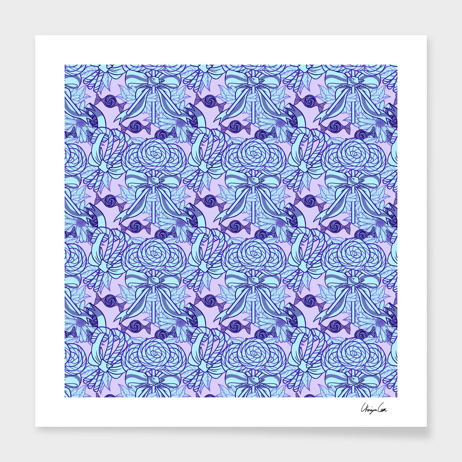 Blueberry Fun (Candy Pattern)