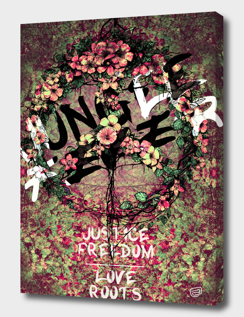 JUNGLE FEVER - Justice / Love / Freedom / Roots