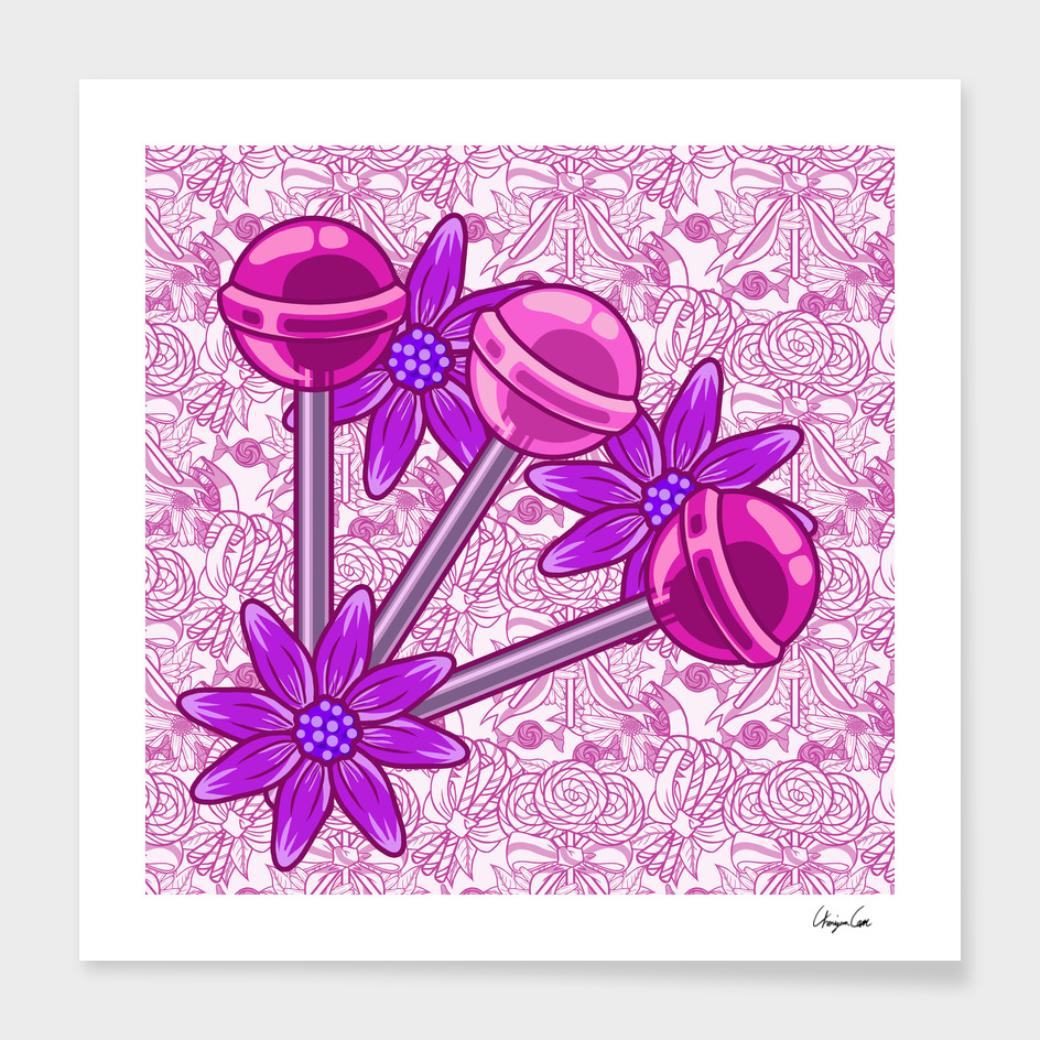 Soft Cotton PLUS (Candy Pattern)