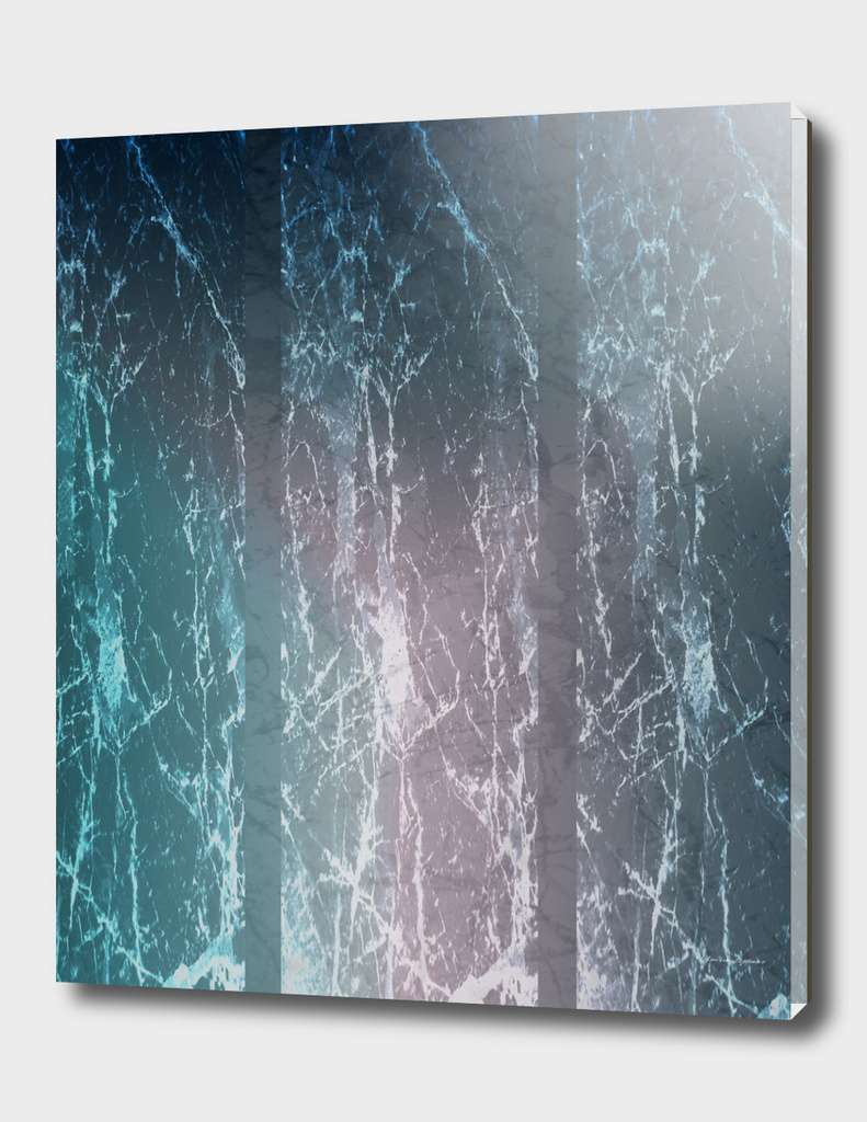 Italian Carrara Marble Revisited (Blue)