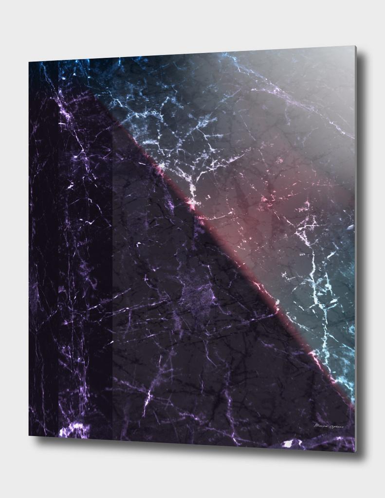 Italian Carrara Marble Revisited (Violet)