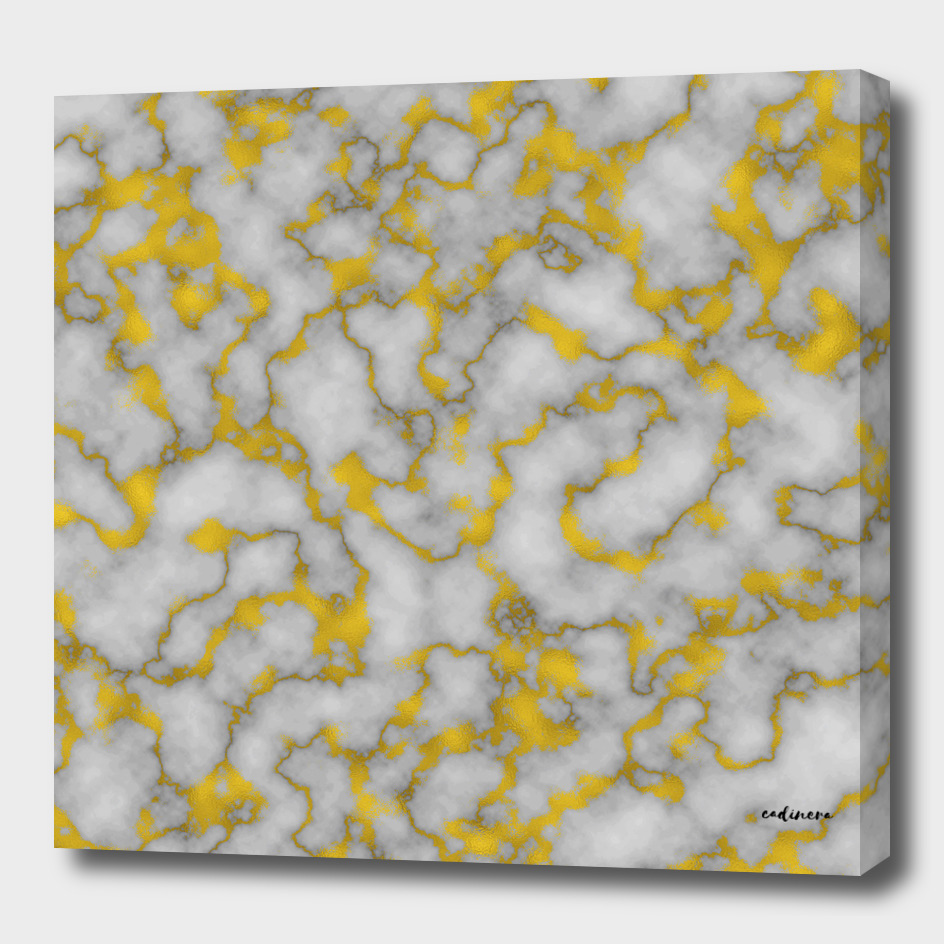Marble and Gold Luxury Foil