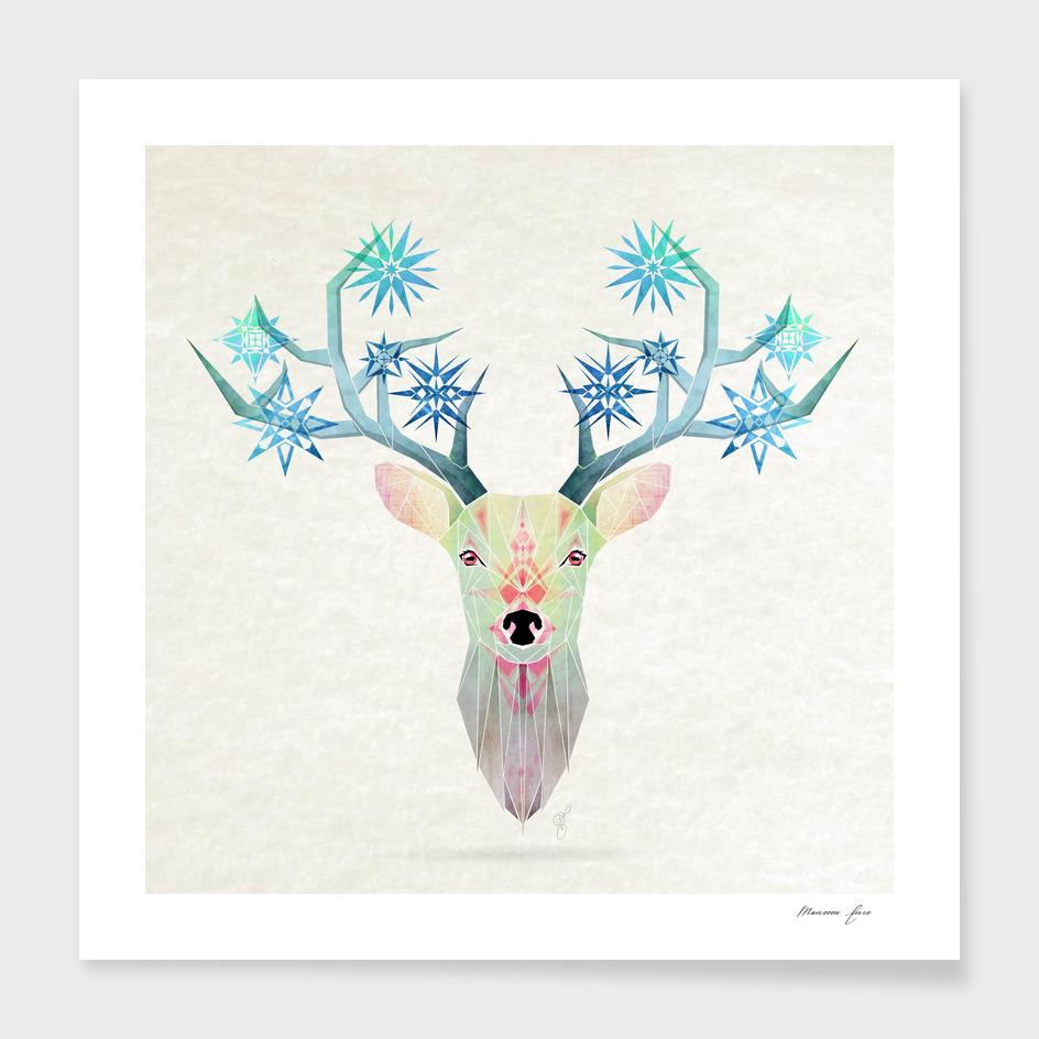 deer winter winter