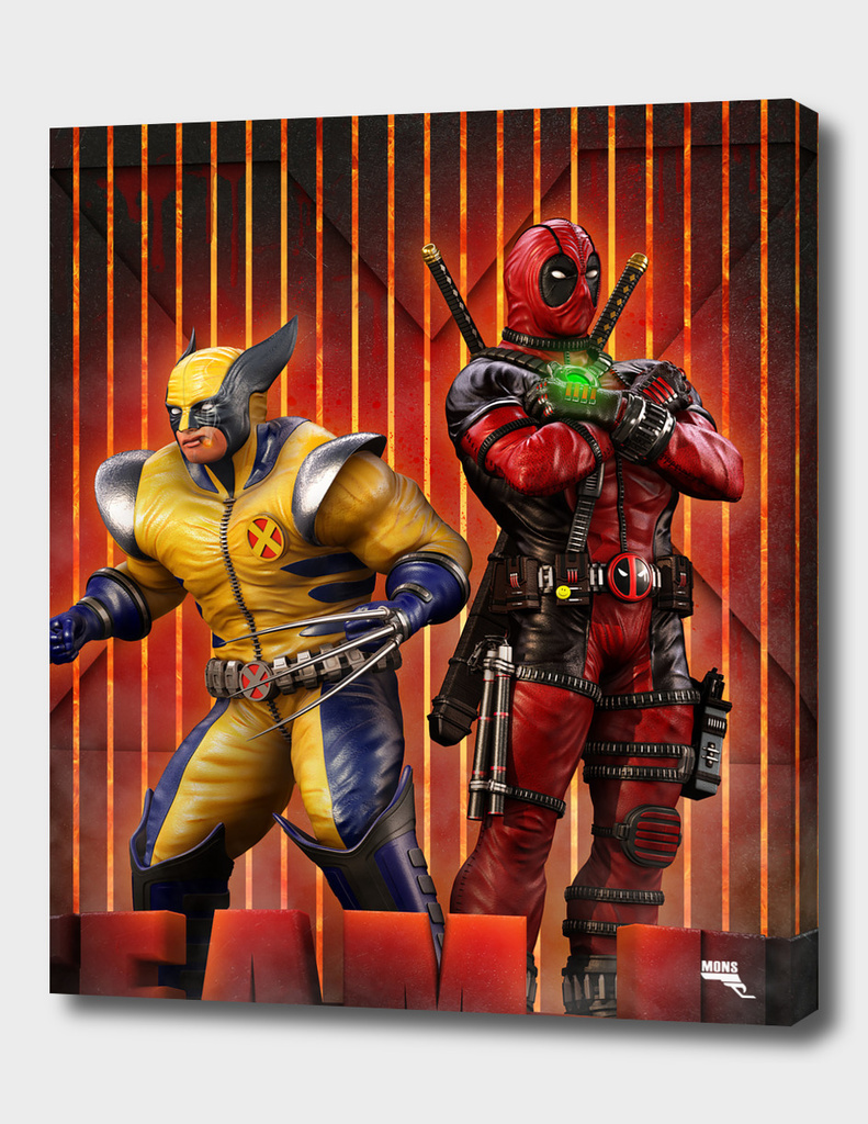 Wolverine and Deadpool.