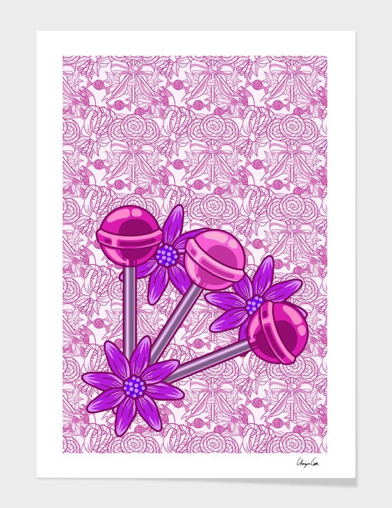 Long Soft Cotton PLUS (Candy Pattern)