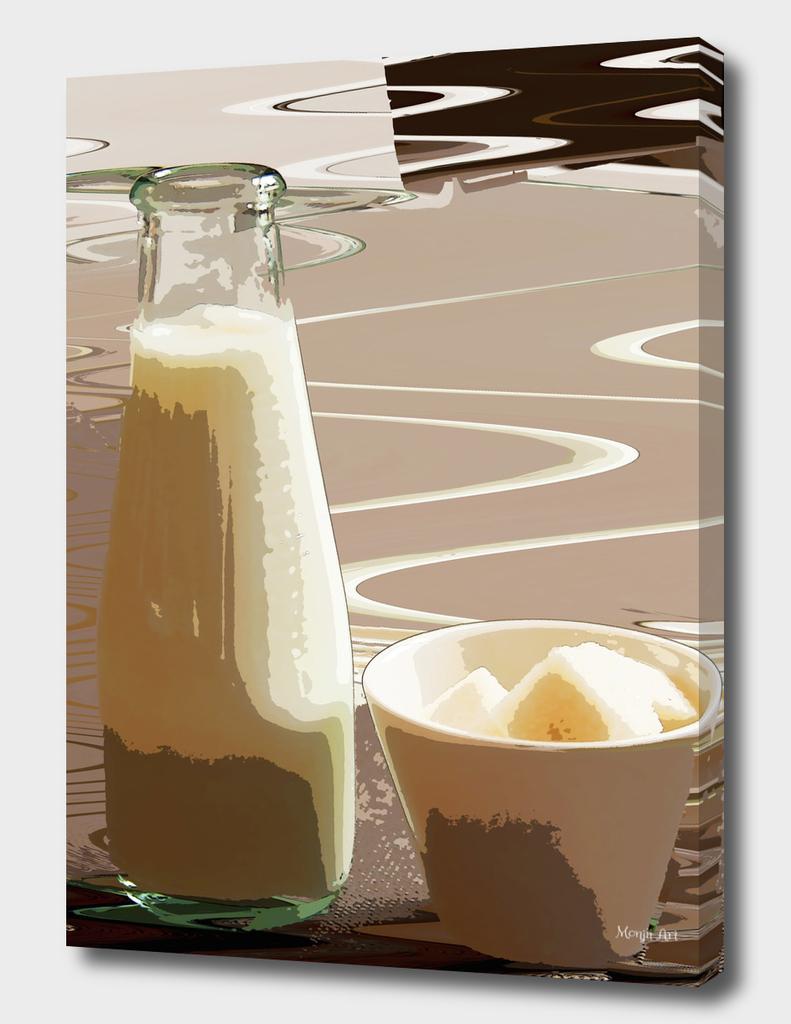 Milk and sugar