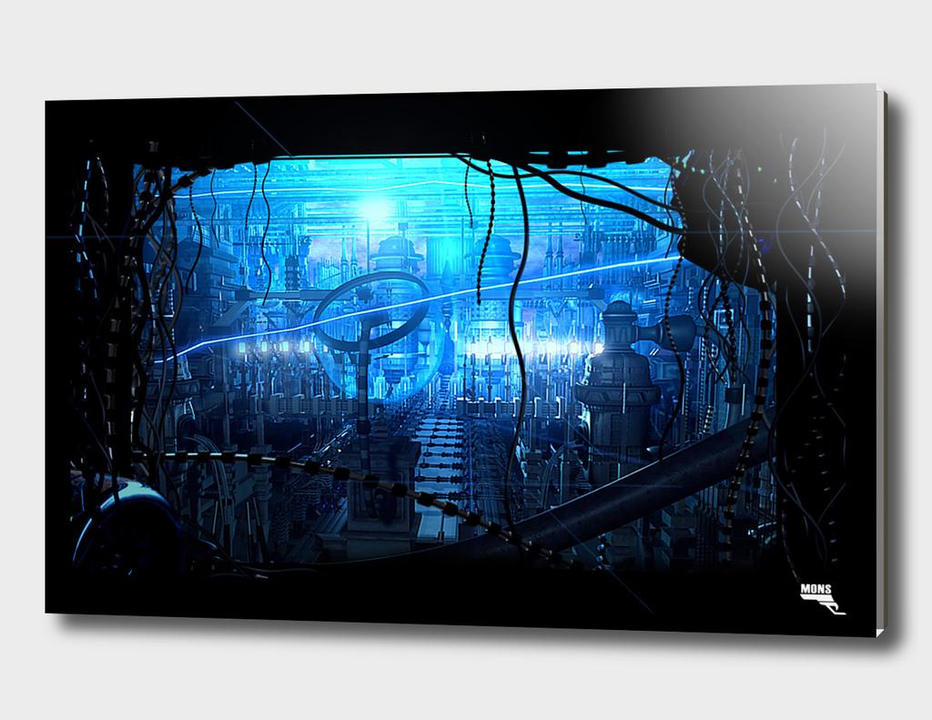 Blue Machine City