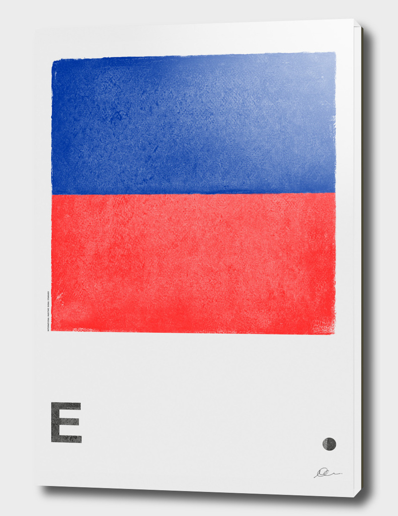 International Maritime Signal Flag Alphabet - E