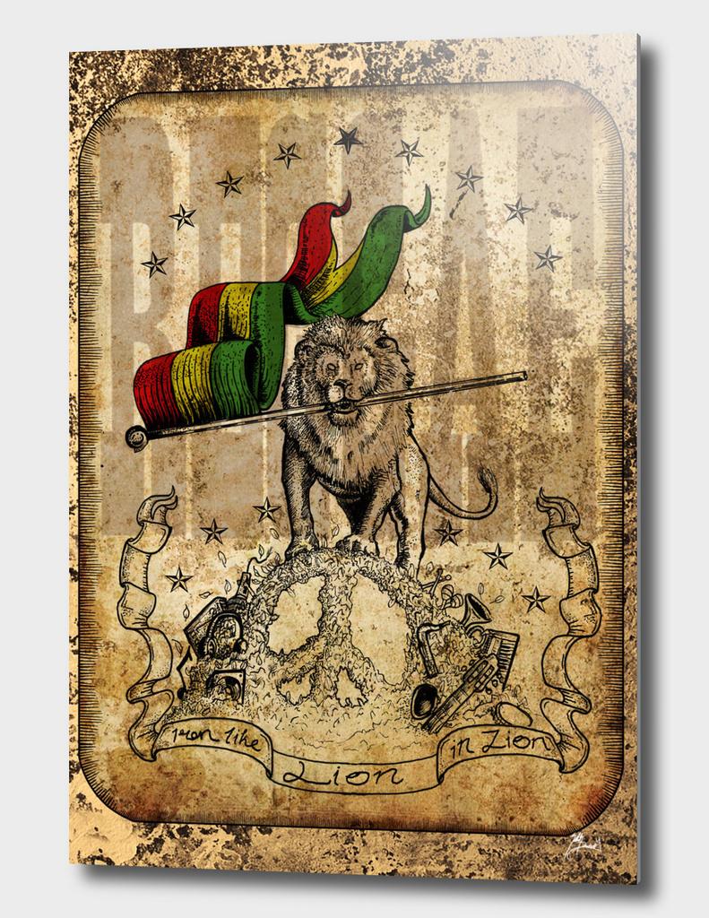 Iron Lion in Zion