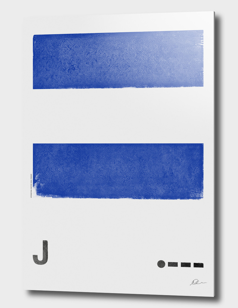 International Maritime Signal Flag Alphabet - J