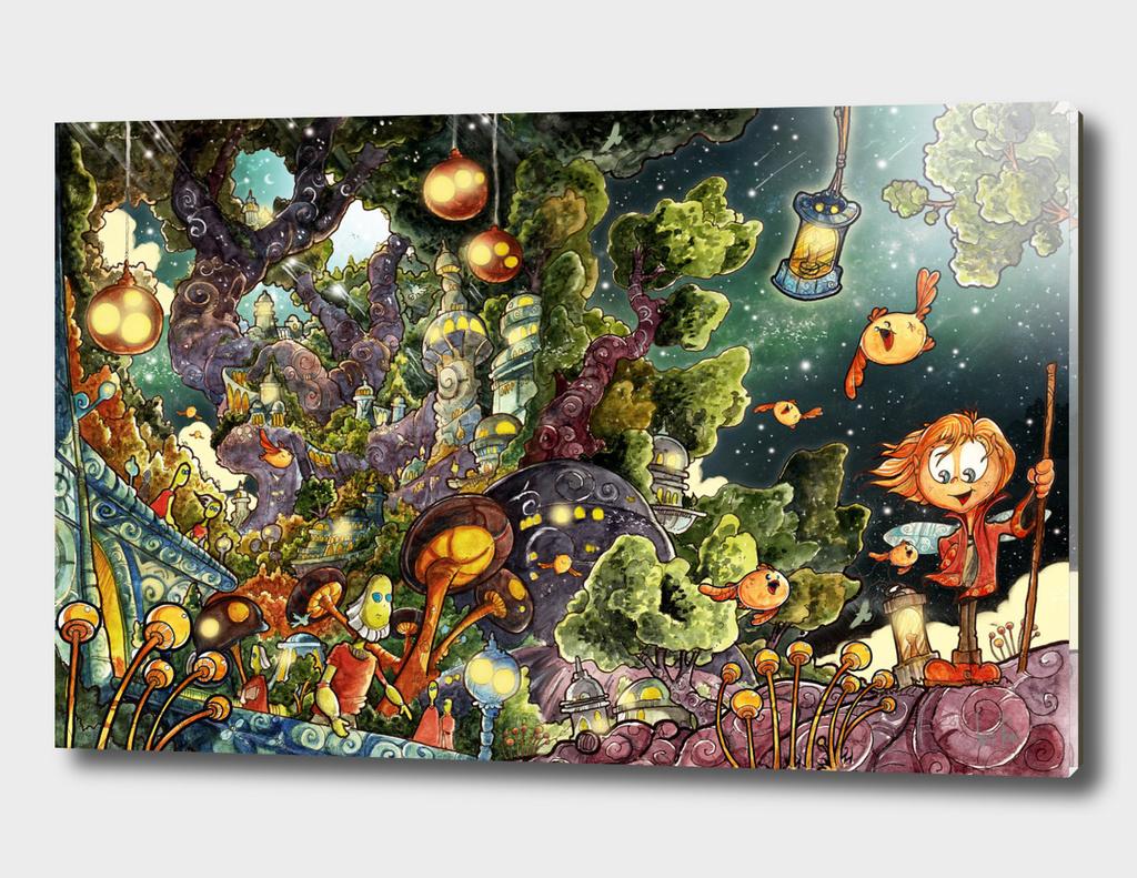 Elf Town - Tree World