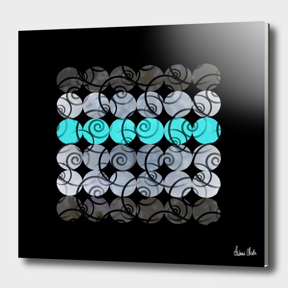 Abstract Circles | spiral pattern no. 4