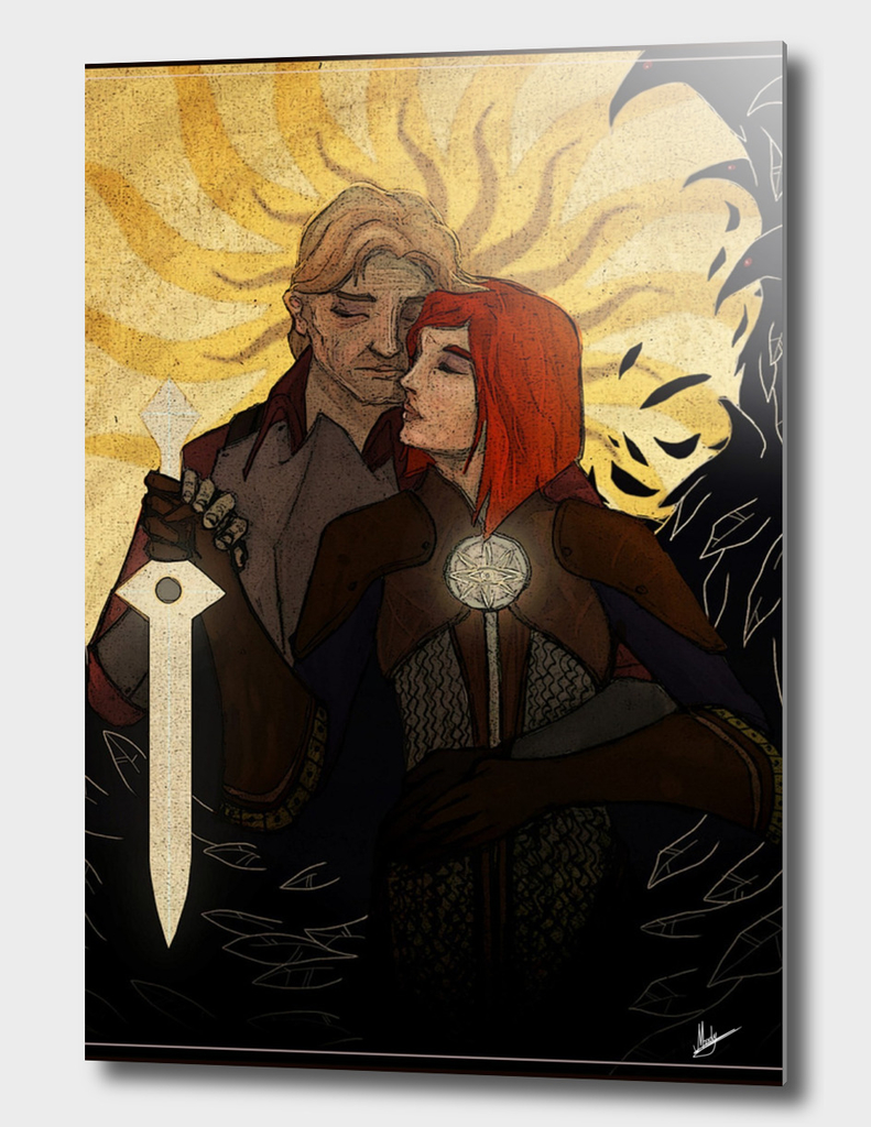Warden and Leliana