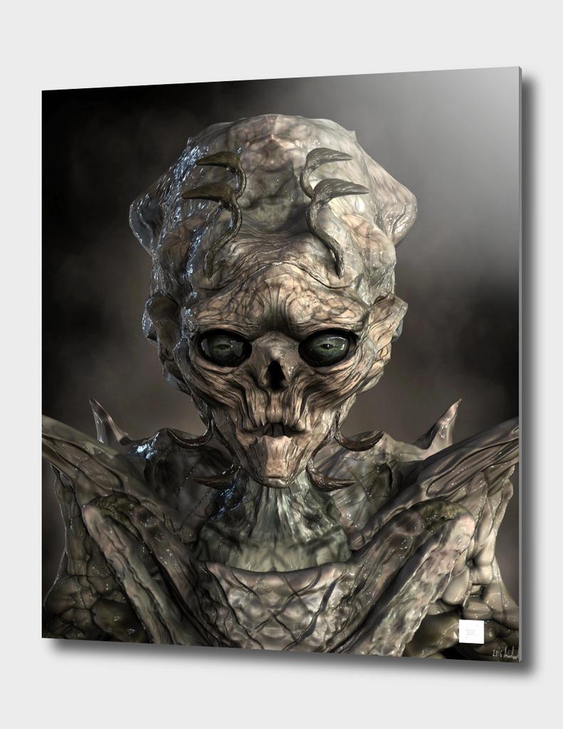 Alien Flesh Eater Portrait