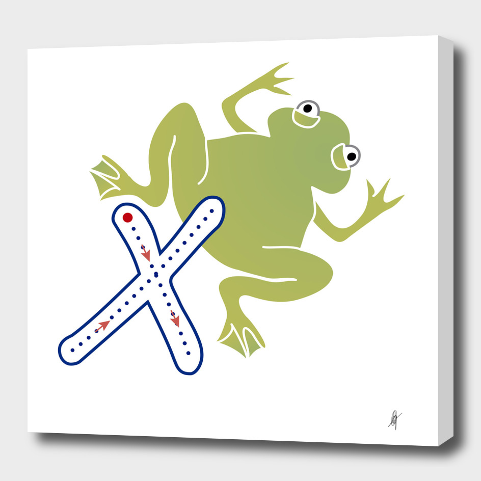 Animal alphabet, letter X: Xenopus
