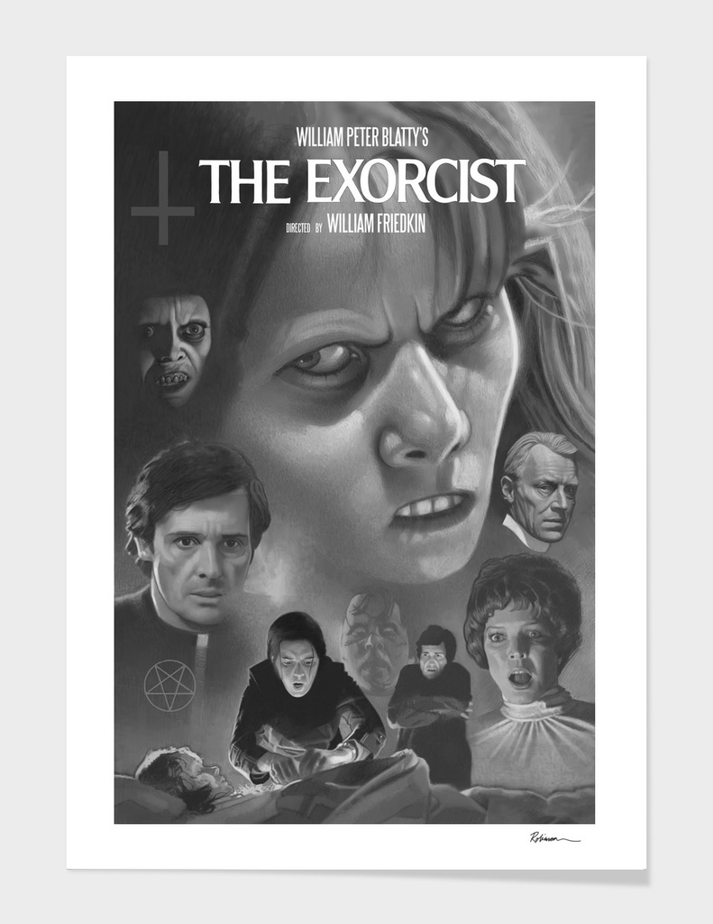 The Exorcist 1974 Tribute Poster