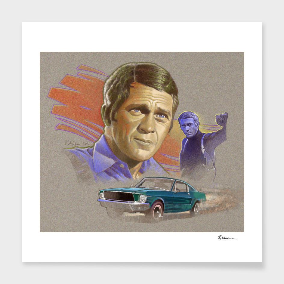 Steve McQueen From Bullitt (1968)
