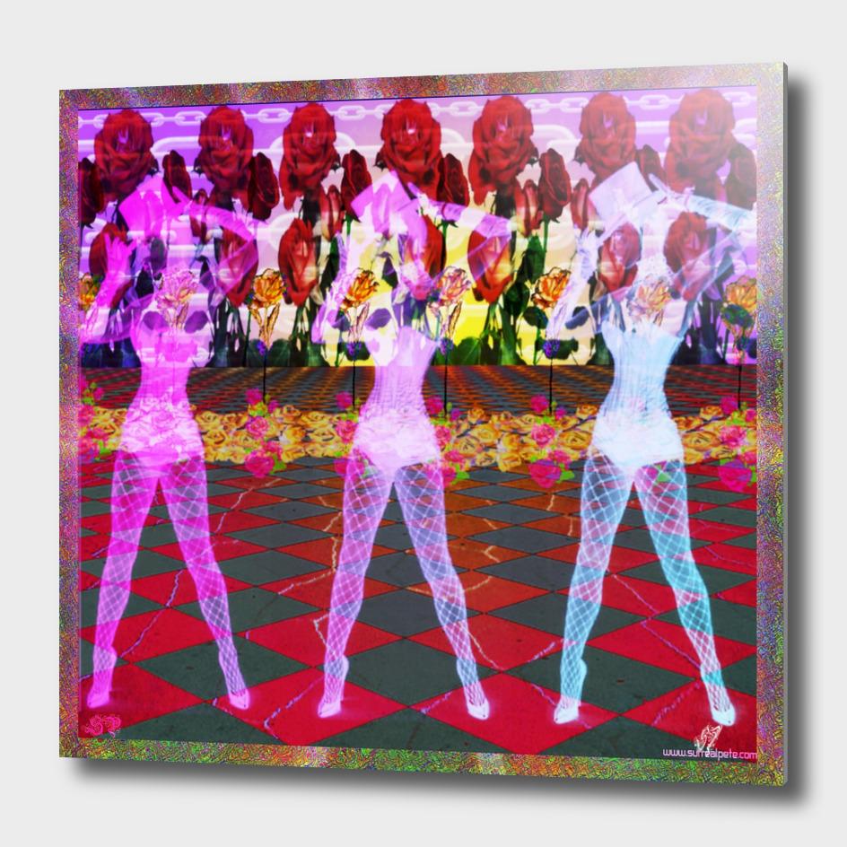 Rose Floor Dancers