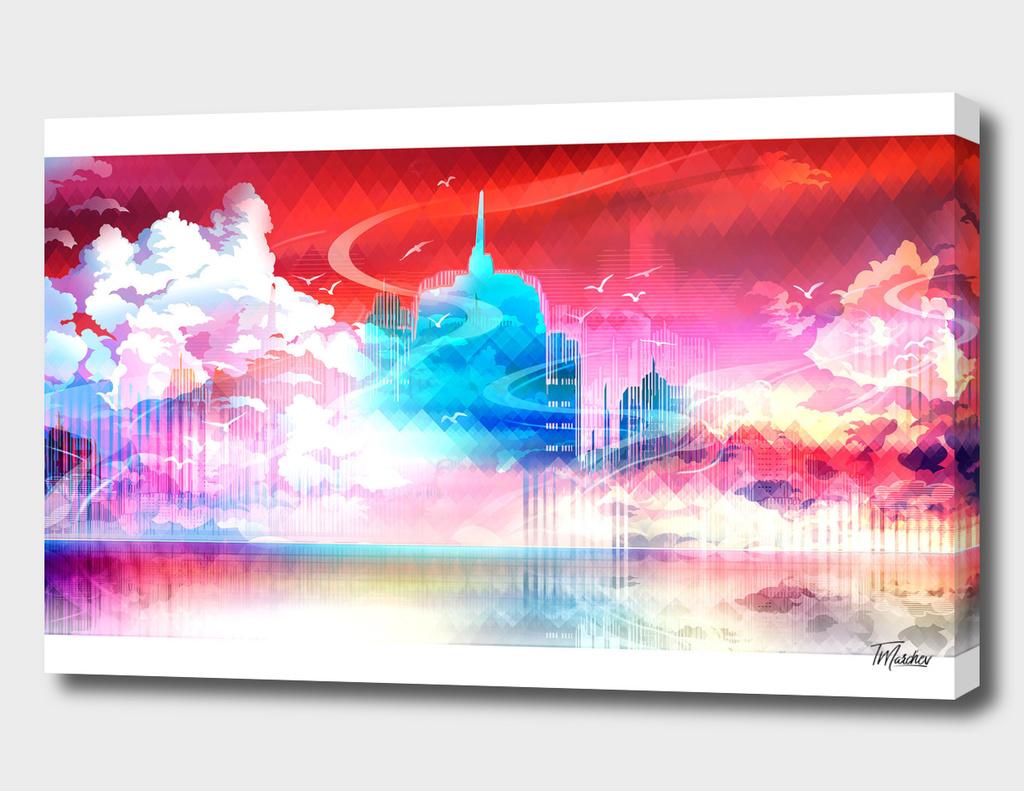 Artistic LXXII - Cityscape / NE