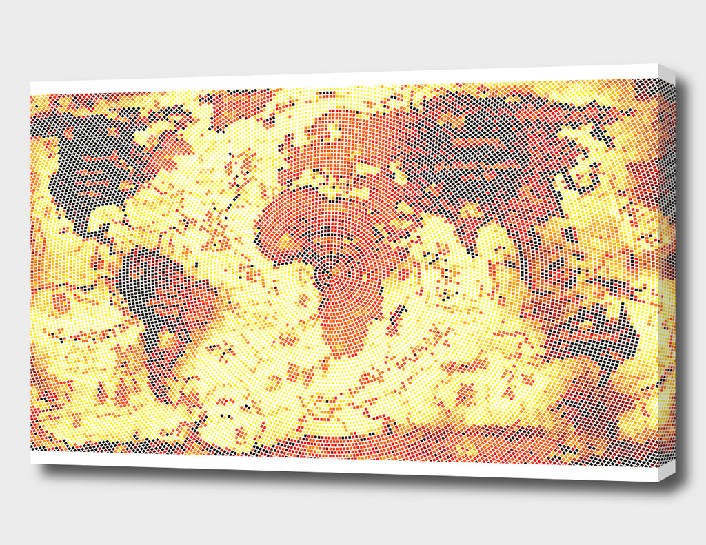 World Map I /NE