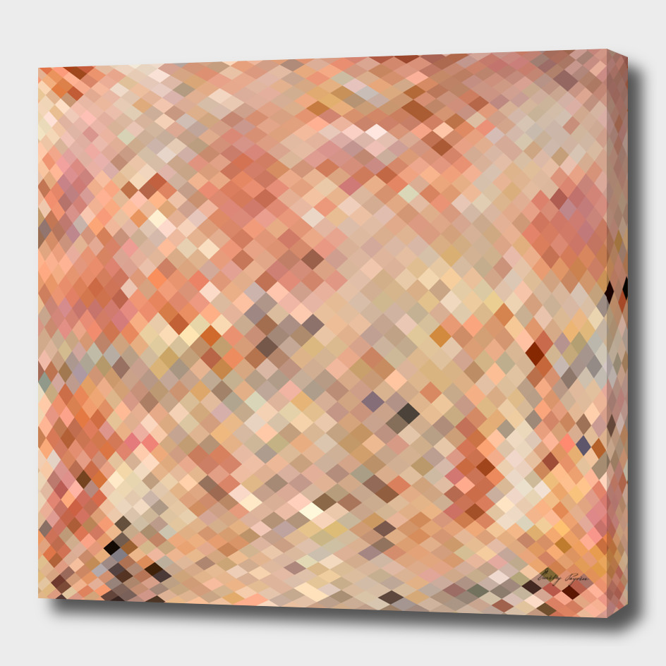 Abstract mosaic background made of squares and pastel