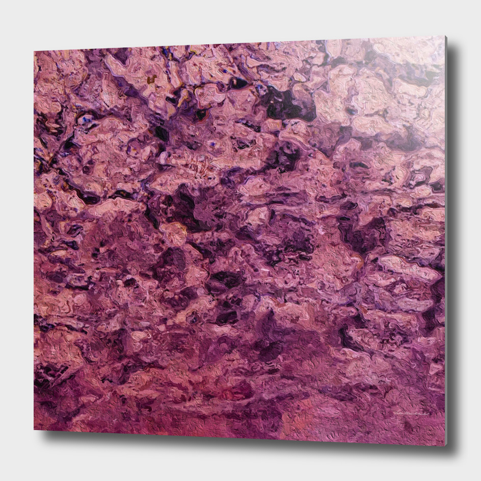 psychedelic grunge painting abstract texture in pink