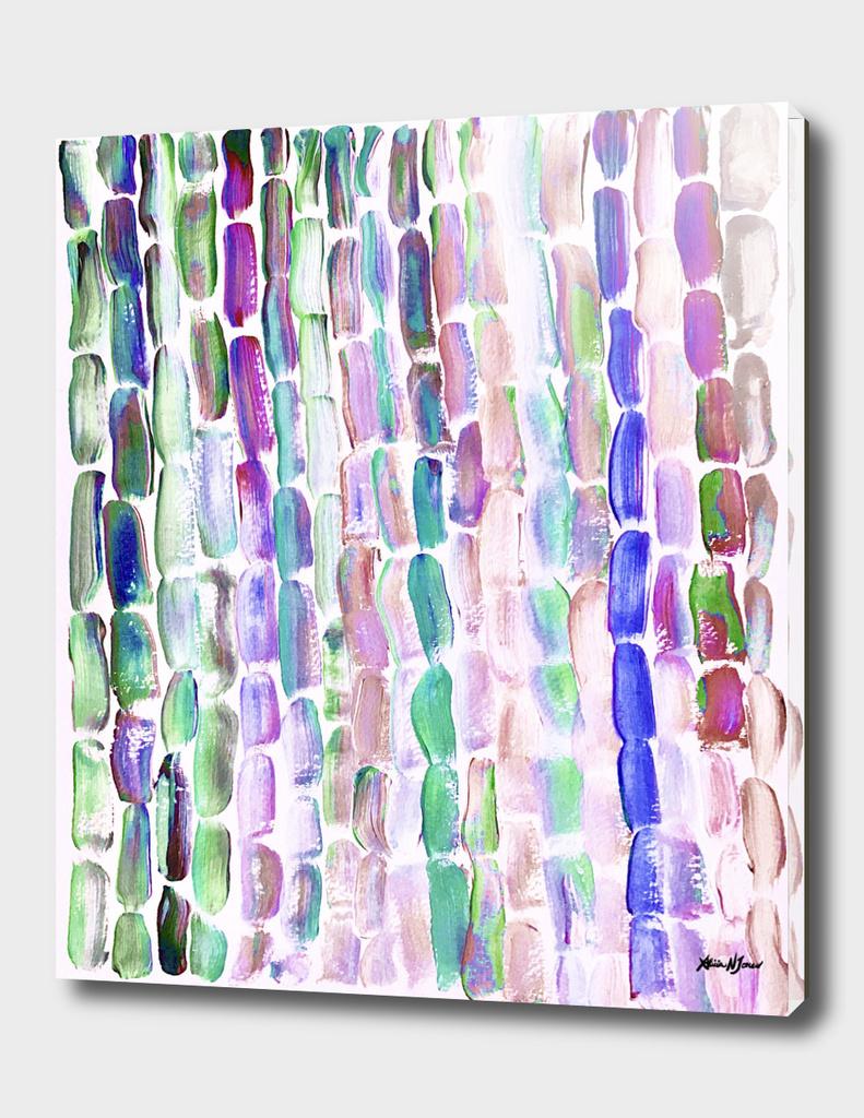 Purple and Green Sugarcane, Greenery