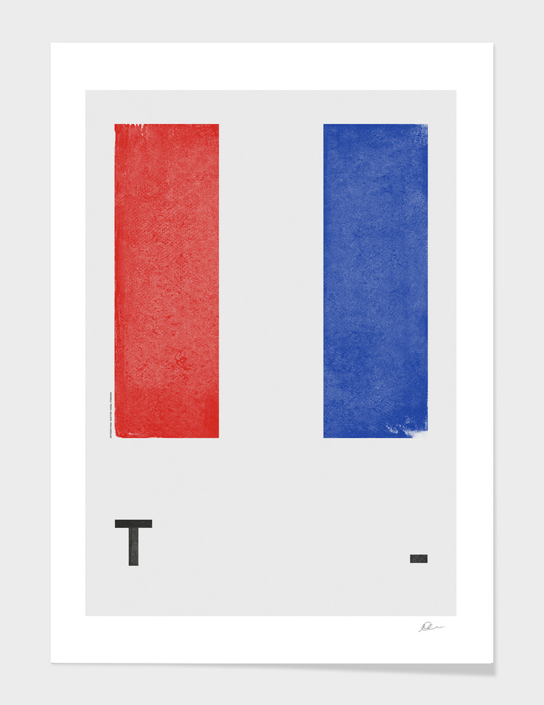 International Maritime Signal Flag Alphabet - T