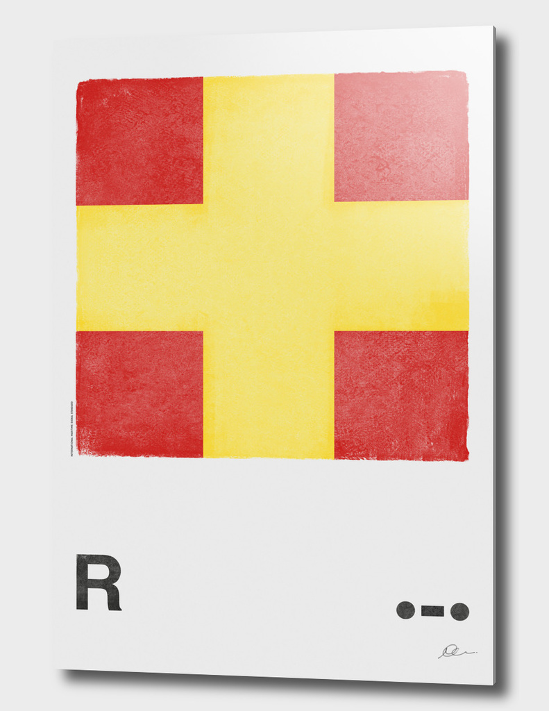 International Maritime Signal Flag Alphabet - R