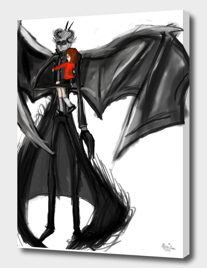 Crowe brawen (My comic character)