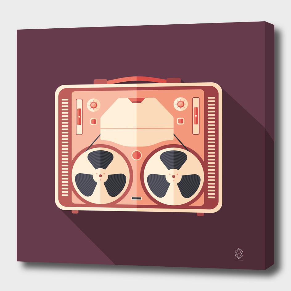 Vintage Tape Recorder