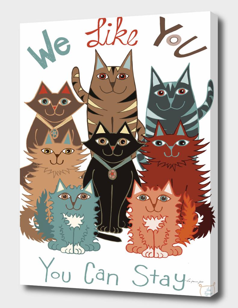 We Like You Illustration