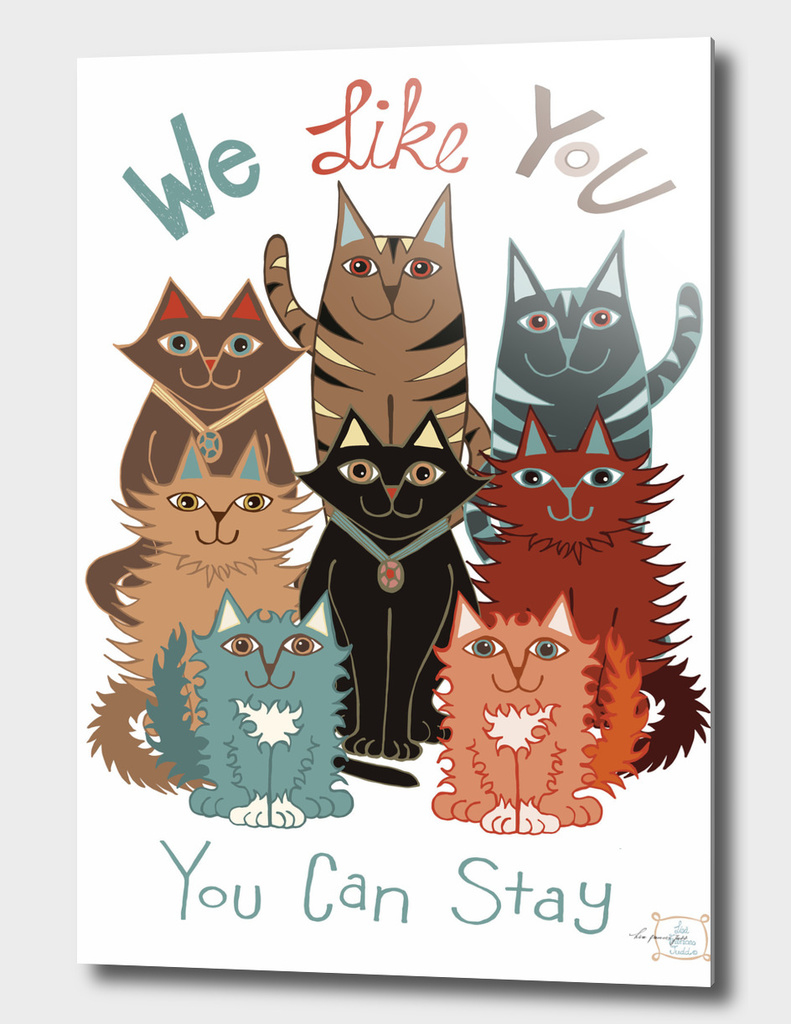 We Like You Illustration