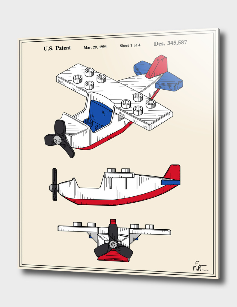 Toy Airplane Patent