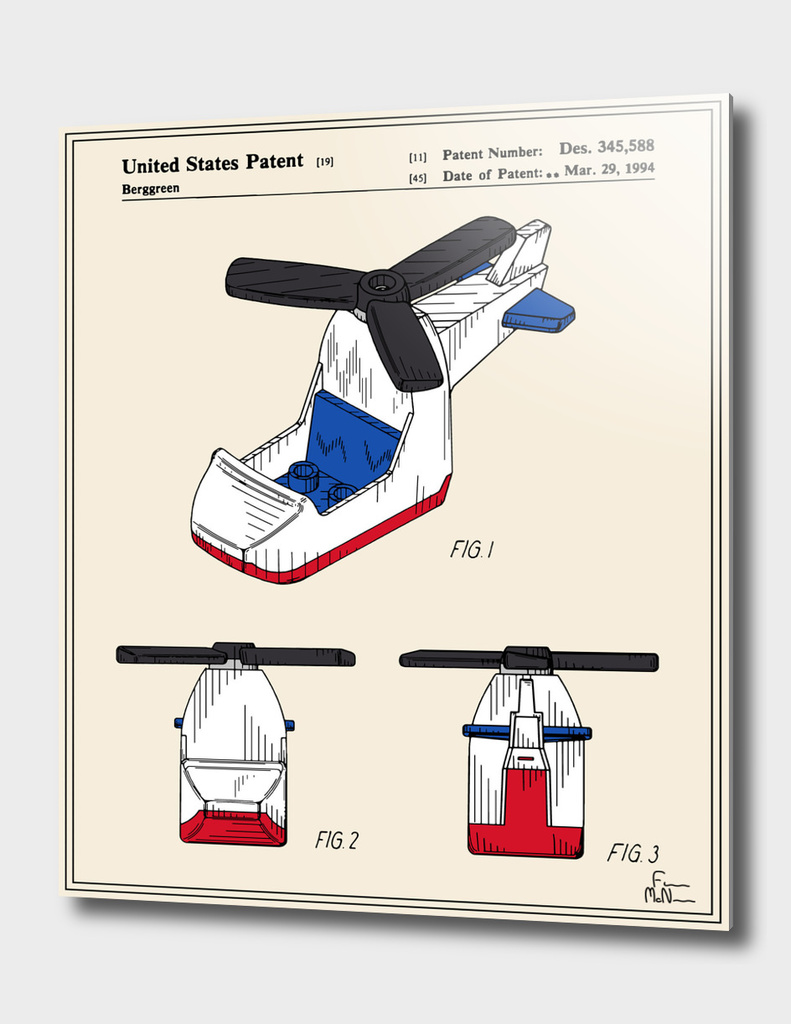 Toy Helicopter Patent