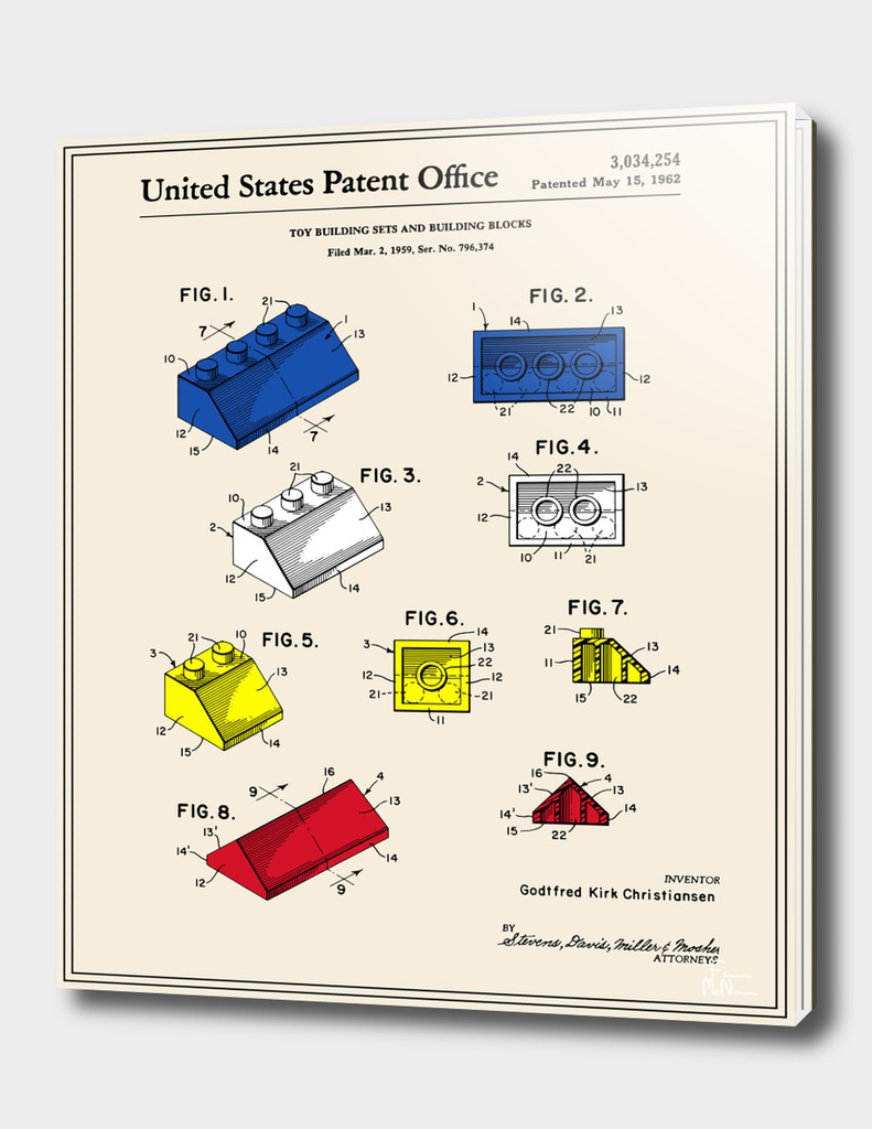 Building Blocks Patent