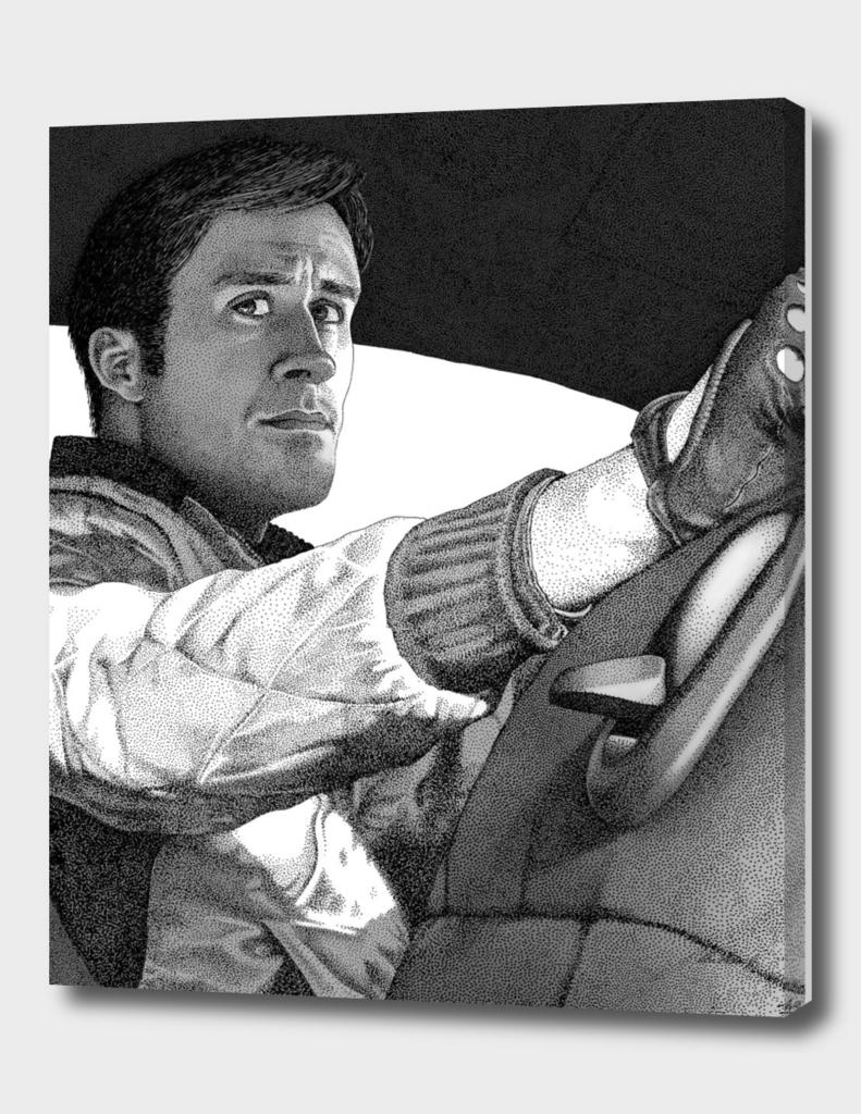 The Driver (B&W)