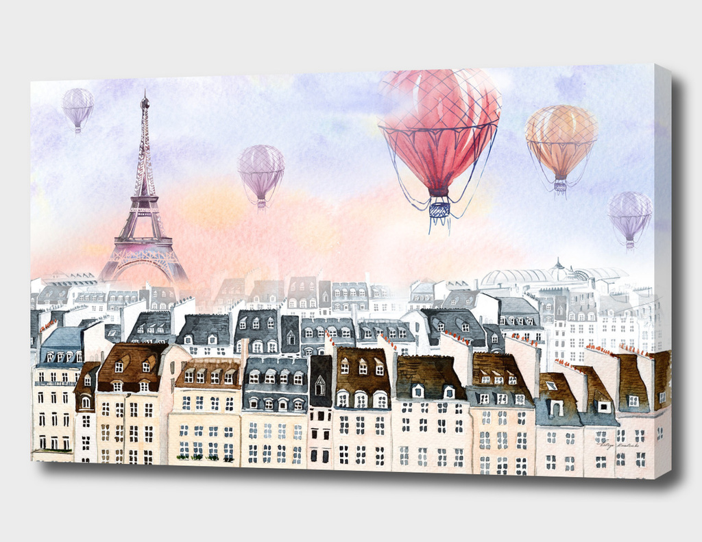 Paris hot air balloon