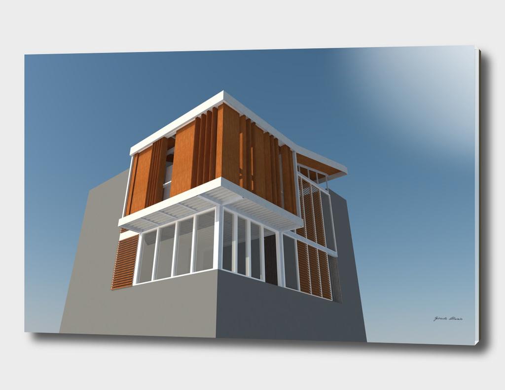 Obturador de fachada