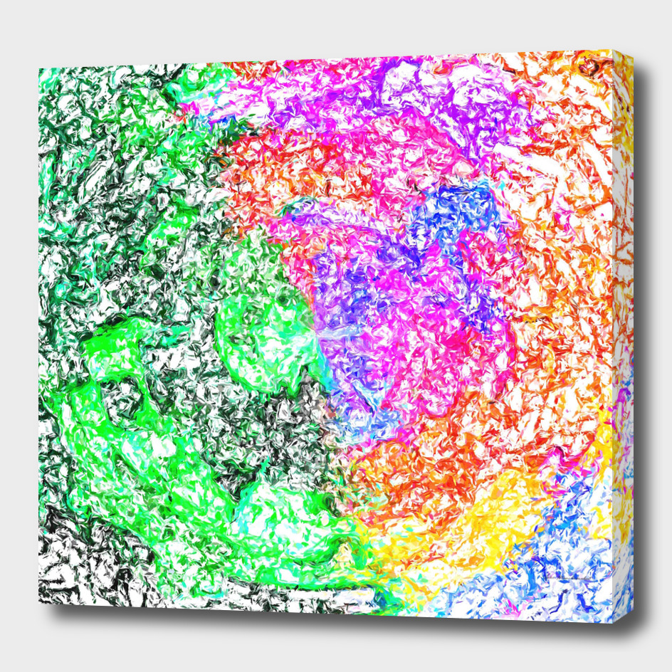 psychedelic watercolor colorful painting abstract
