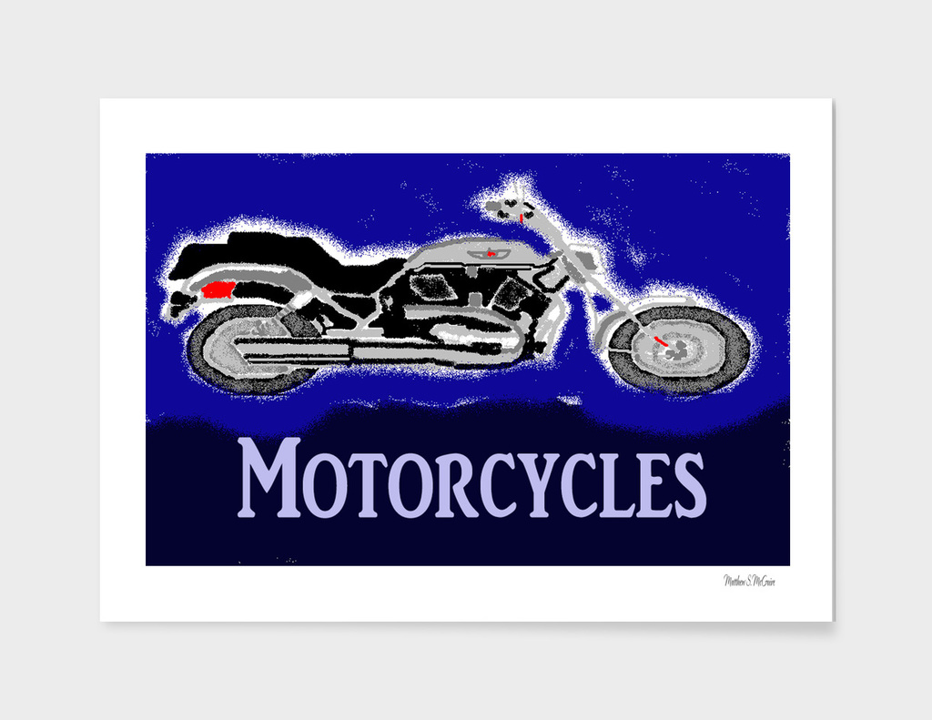 MotorCycles of The 70