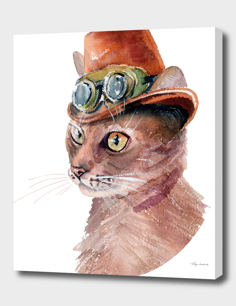 cat Steampunk