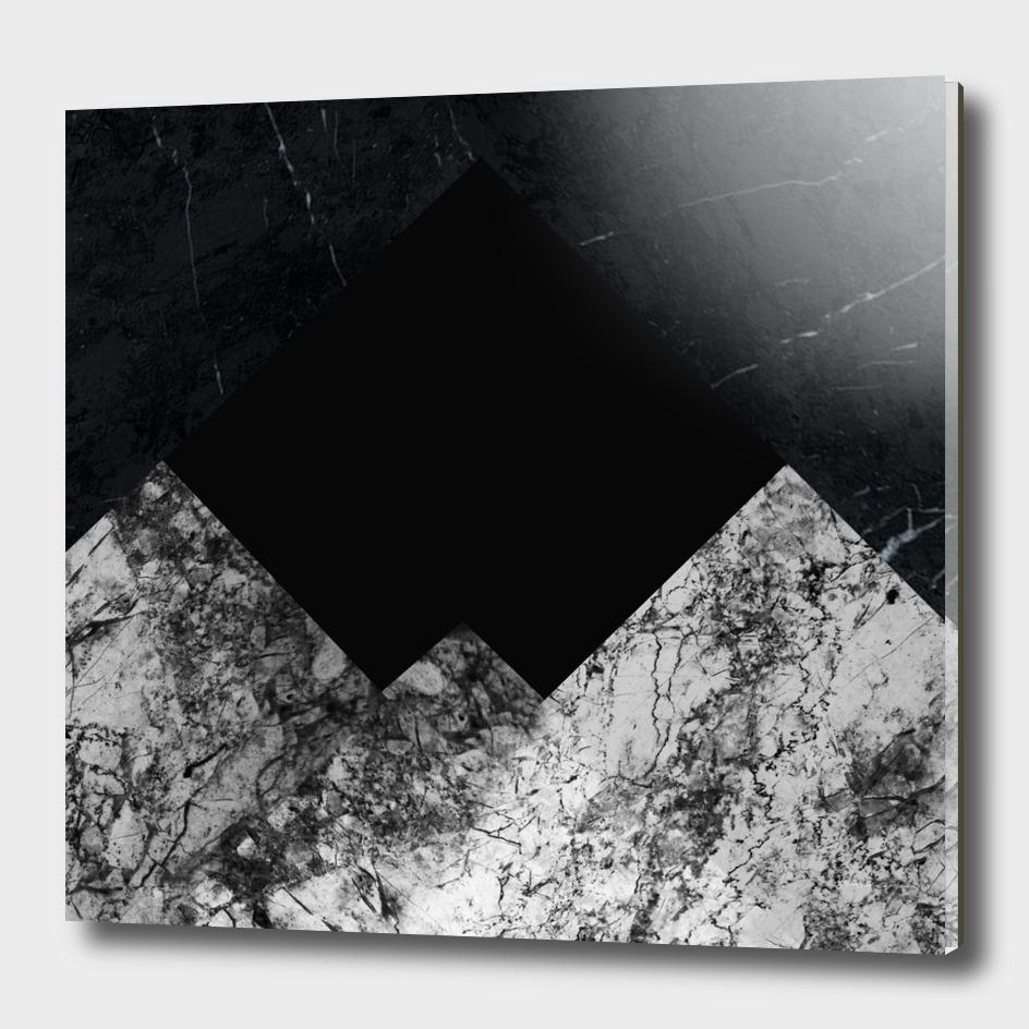 Black&white marble