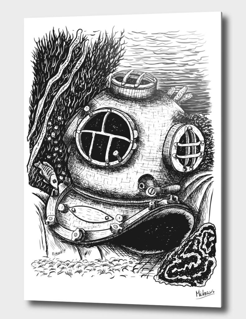 Underwater ink edition