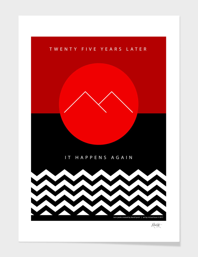 Twin Peaks (minimalistic)